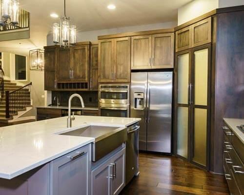 Silverado Stout Birch Kitchen Installation