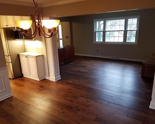 Novella Thoreau Living room Installation in Columbus OH Hallmark