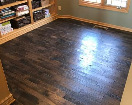 Organic Solid Clove Bedroom Installation In Lincoln Ne Hallmark Floors