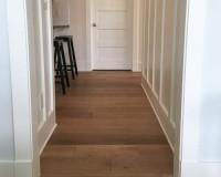 Ventura Marina Oak Hallway Install