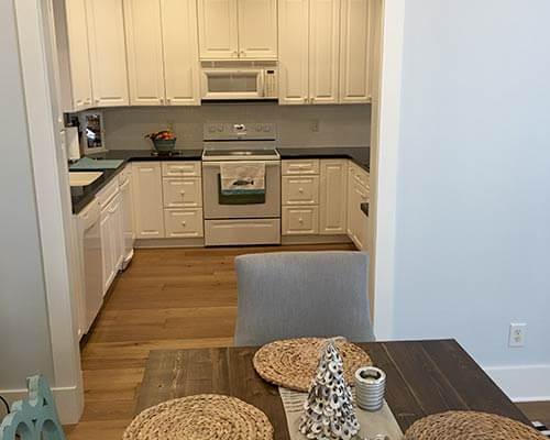 Ventura Marina Oak Kitchen Install
