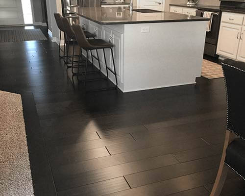 Silverado Dark Chocolate Birch Kitchen Install In Papillion