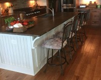 Chaparral Tack Room Hickory Kitchen Install