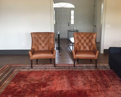 Novella Thoreau Living Room Install