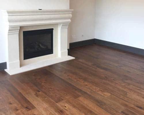 Novella Thoreau Living Room Fireplace Install
