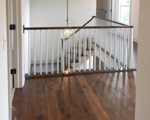 Novella Thoreau Stairway Install