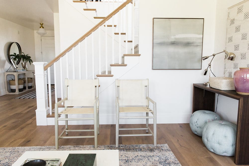Alta Vista Parade Home | Stairs and chairs with Alta Vista Malibu