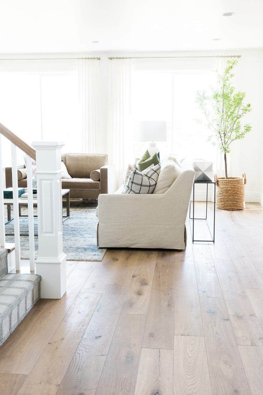 Alta Vista Parade Home Studio Mcgee on Modern Living Room With Wood Floors