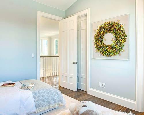 Organic 567 Earl Grey Bedroom Install