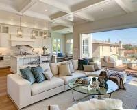 Organic 567 Earl Grey Living Room Floor Installation