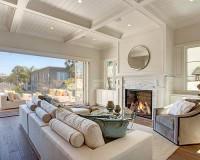 Organic 567 Earl Grey Living Room Installation