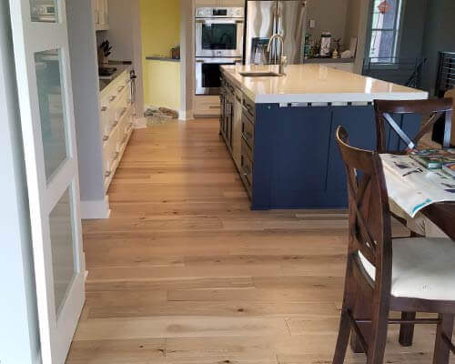 Engineered Hickory Floors Installation Hallmark