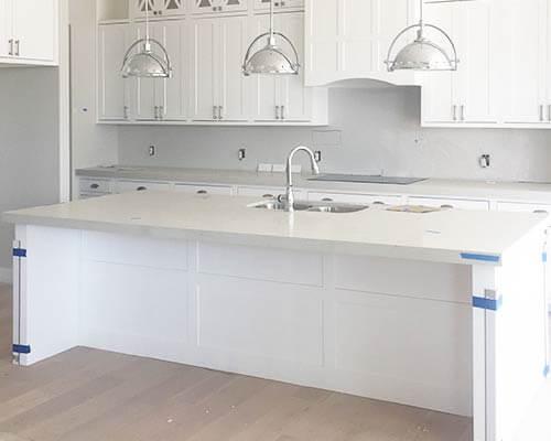Ventura Seashell Kitchen Install