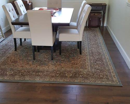 Monterey Bungalow Dining Room Install