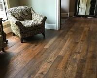 Hallmark engineered hickory hardwood and print chair