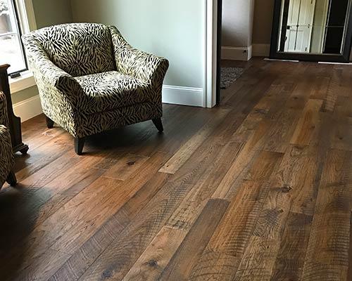 Organic Hickory Engineered Hardwood Installed By Dixie Flooring Inc