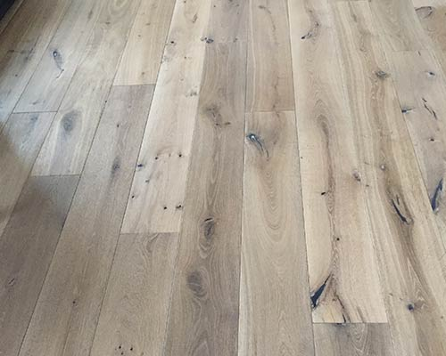 Alta Vista Malibu Living Room Floor Installation in San Francisco CA