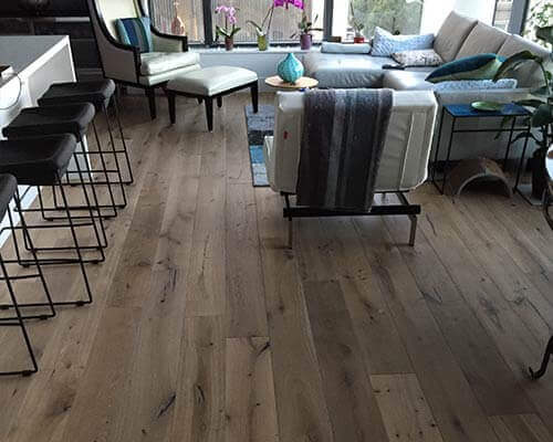 Alta Vista Malibu Dining Area and Living Room Installation in San Francisco CA