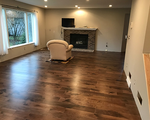 Moderno Seal Cove Family Room Installation St. Paul MN