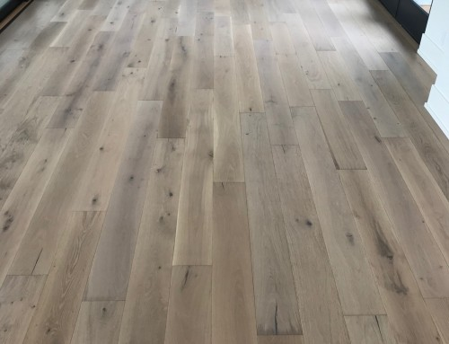 Alta Vista Laguna Hallway Floor Installation Ashland NE