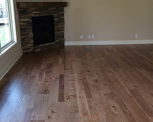 Monterey Ranchero Hickory Living Room Installation La Vista NE