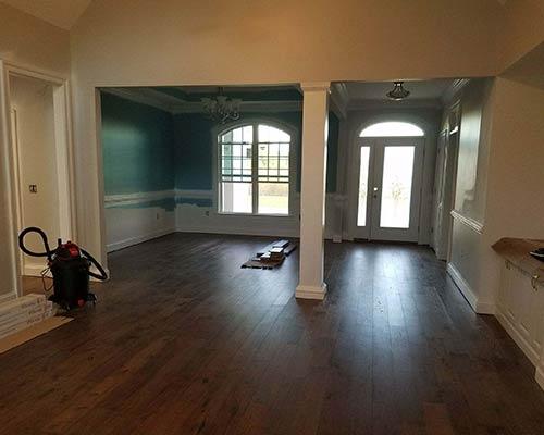 Novella Thoreau Hickory Living Room Installation in Edenton NC