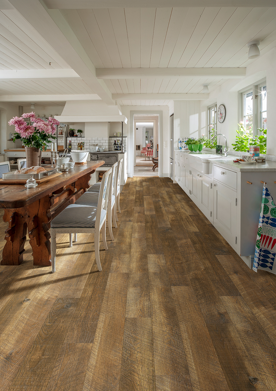 Courtier Rigid Waterproof Duchess Hickory Commercial Flooring