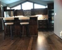 Le Sueur, MN Kitchen Floor Installation Monterey Bungalow Maple Flooring