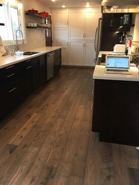 Kitchen Floor Installation Novella Faulkner