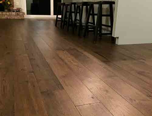Monterey Gaucho Hickory Dining Room Floor Installation Lakewood WA