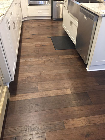 Monterey Gaucho Kitchen full installation by skips custom flooring canadaigua
