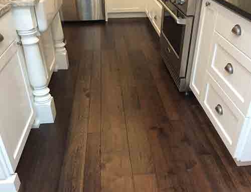 Monterey Gaucho Hickory Kitchen  Floor Installation Lakewood WA