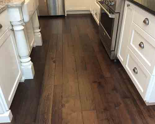 Monterey Gaucho flooring used in Kitchen Floor Installation