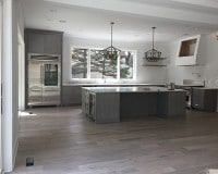 Columbus, OH Kitchen Floor Installation suing Novella Hawthorne Oak