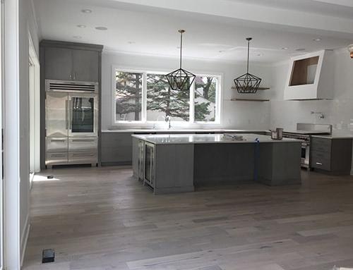 Novella Hawthorne Oak Kitchen Floor Installation Columbus OH