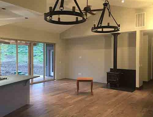 Novella Faulkner Hickory Dining Room Floor Installation Big Sky, MT
