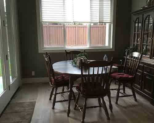Novella Hawthorne Dining Room Install Boise, ID