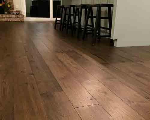 Hallmark Floors Novella Hickory Kitchen Installation Orange Park, FL
