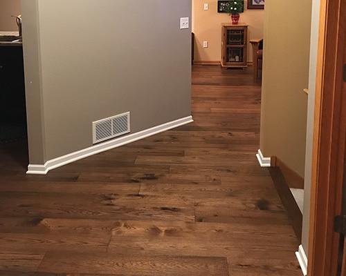 Hallmark Floors Novella Thoreau flooring installed in Hallway