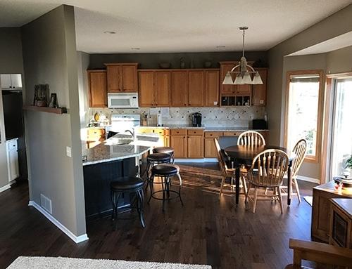 Novella Thoreau Kitchen Floor Installation Shakopee, MN