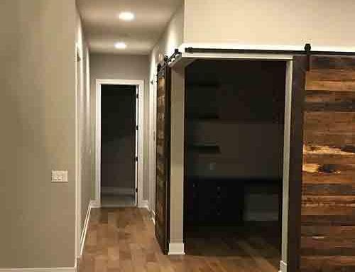 Novella Twain Hallway Floor Install in Omaha, NE