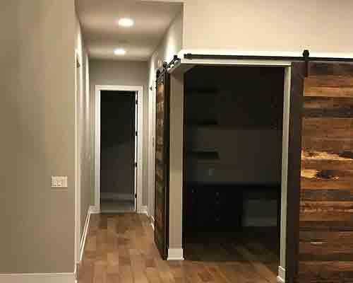 Hallway Floor Installation Omaha, NE Novella Twain