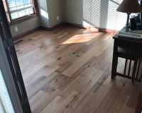 Monterey Ranchero Hickory Office Floor Installation Elkhorn NE