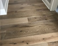 Textured Hallway Featuring Organic 567 Engineered Chai White Oak