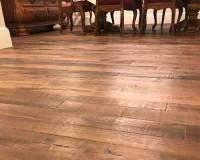 Organic Solid Kava Dining Room Floor Installation Kennebunkport, ME