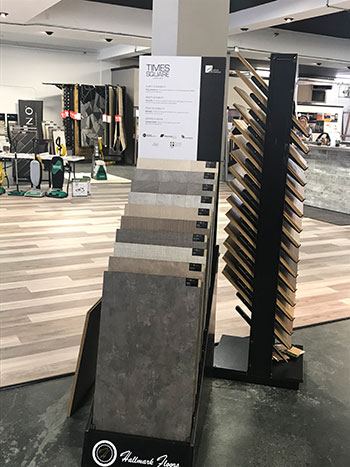 Skips Custom Flooring Times Square Display