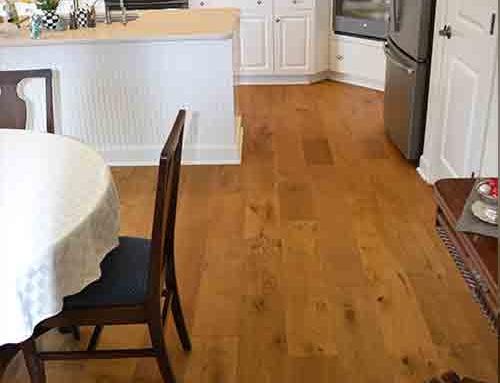 Ventura Mangrove Dining Room Installation Pittsford NY