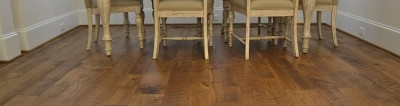 Organic Wood Flooring Installation