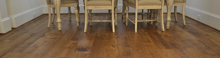 Organic Wood Flooring Installation