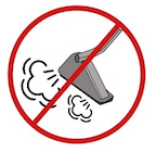 Do not use steam cleaners on wood floors. Steam Cleaner Illustration for the Maintaining wood floors right.